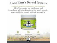 Uncle Harry's Natural & Fluoride-free Remineralizing Toothpaste - Peppermint (3 oz. jar) - Image 12