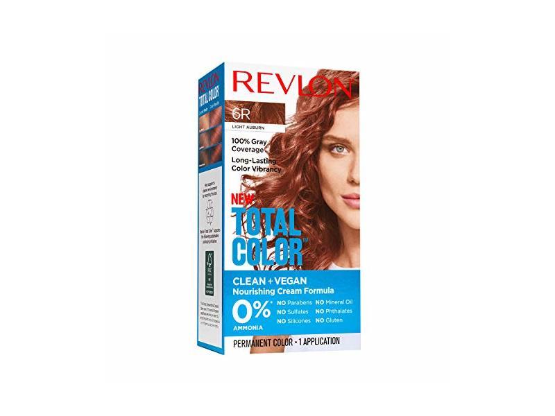 Revlon Total Color Clean and Vegan, 6R Light Auburn