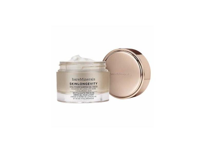Bareminerals Skinlongevity Vital Power Sleeping Gel Cream, 1.7-oz.