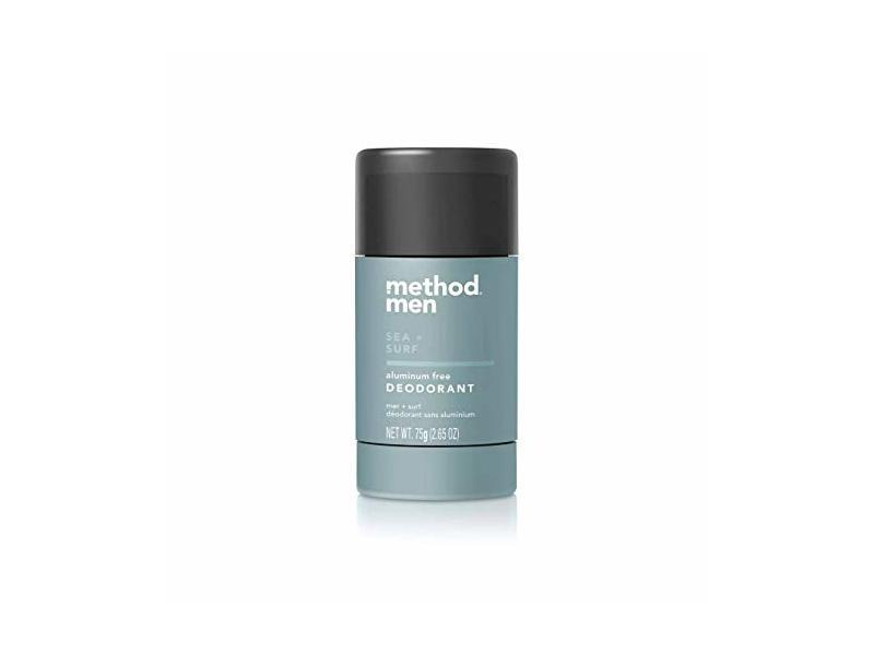Method Men Aluminum Free Deodorant, Sea + Surf, 2.65 oz