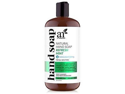 Artnaturals Hand Soap, Refresh Mint, 16 fl oz/473 mL