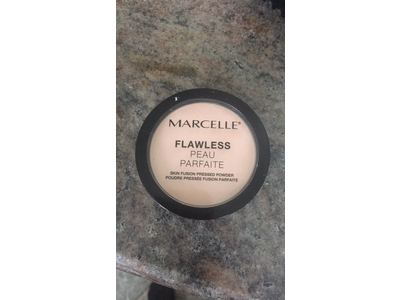 Marcelle Flawless Pressed Powder, Ivory, Hypoallergenic and Fragrance-Free, 0.25 oz - Image 3
