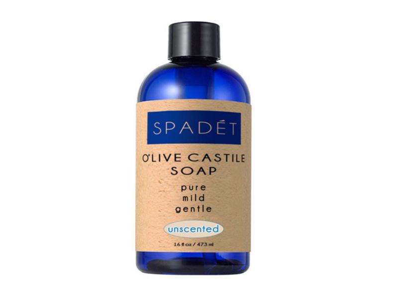 Spadet O'Live Castile Soap, Unscented, 16 fl oz