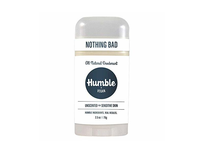 Humble Vegan All Natural Deodorant, Simply Unscented, 2.5 oz