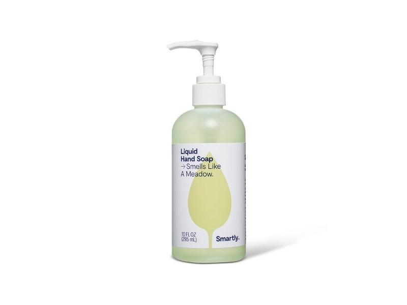 Smartly Liquid Hand Soap, Smells Like a Meadow, 10 fl oz