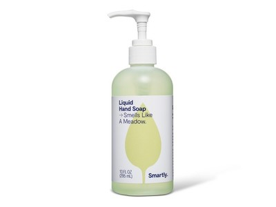 Smartly Liquid Hand Soap, Smells Like a Meadow, 10 fl oz