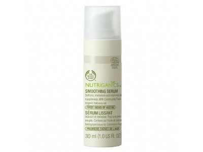 The Body Shop Nutriganics Smoothing Serum, 1.0 fl oz - Image 1