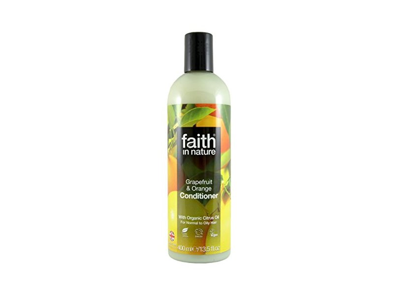 Faith in Nature Conditioner for Normal to Oily Hair Grapefruit Orange 13, 5 fl oz 400 ml