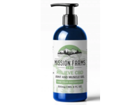 Mission Farms Joint And Muscle Gel, Relieve Cbd, 300mg Cbd, 4 fl oz - Image 2