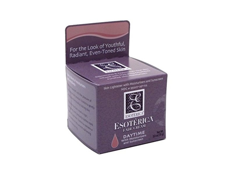 Esoterica Fade Cream Daytime with Moisturzer & Sunscreen 2.5oz (2 Pack)