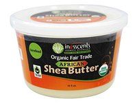 Inesscents Aromatic Botanicals Organic Unrefined Fair Trade African Shea Butter, 16 oz. - Image 2