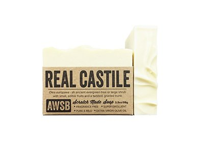 A Wild Soap Bar Real Castile Bar Soap (1 pack)