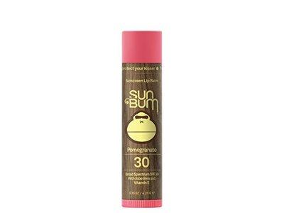 Sun Bum Sunscreen Lip Balm, Pomegranate, SPF 30,15oz