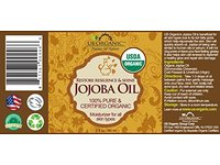 US Organic Jojoba Oil 2 oz (60ml) - Image 4