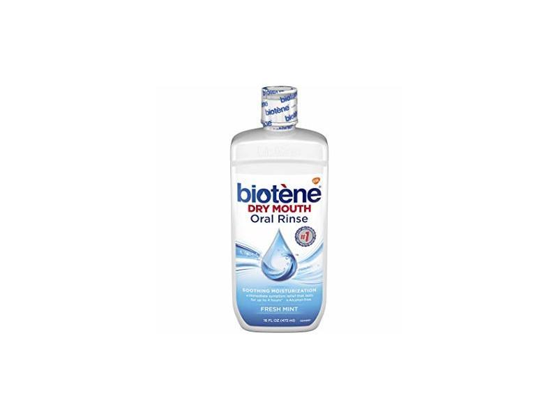 Biotene Dry Mouth Oral Rinse, Fresh Mint, 16 fl oz