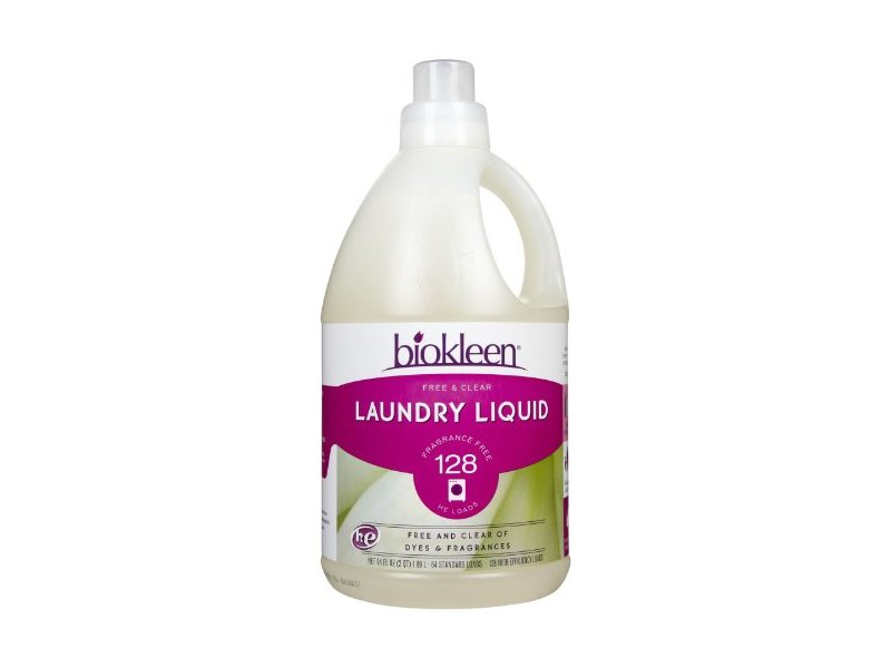 Biokleen Liquid Laundry Detergent Free Amp Clear 150 Fl Oz