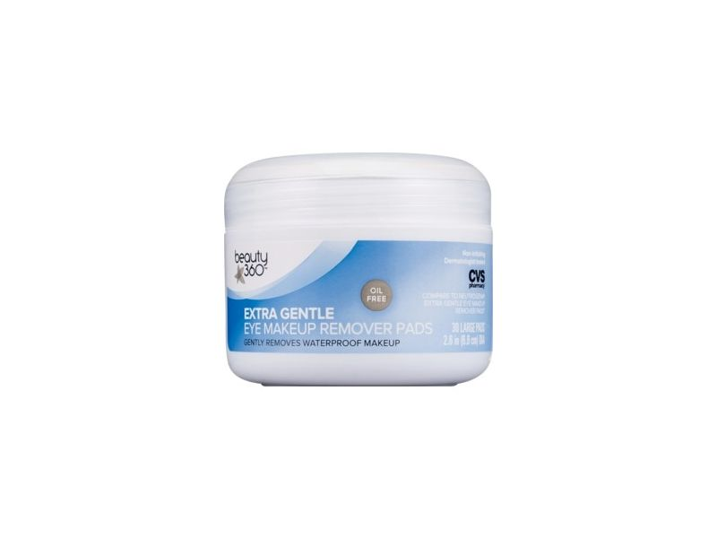 Beauty 360 Eye Makeup Remover Extra Gentle Pads