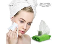 BeautyFrizz Daily Cleansing Facial Wipes, Green Tea, 25 ct (Pack of 2) - Image 8