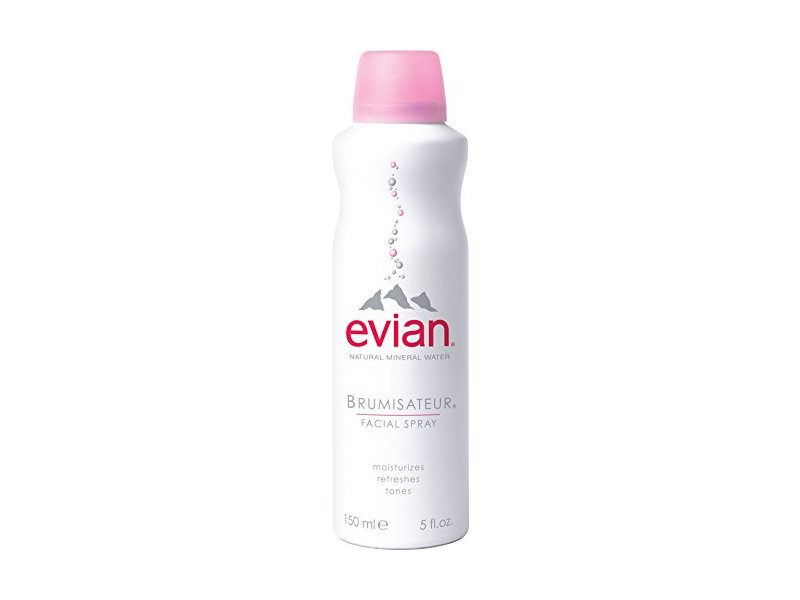EVIAN Facial Spray Natural Mineral Water Facial Spray, 5 oz.