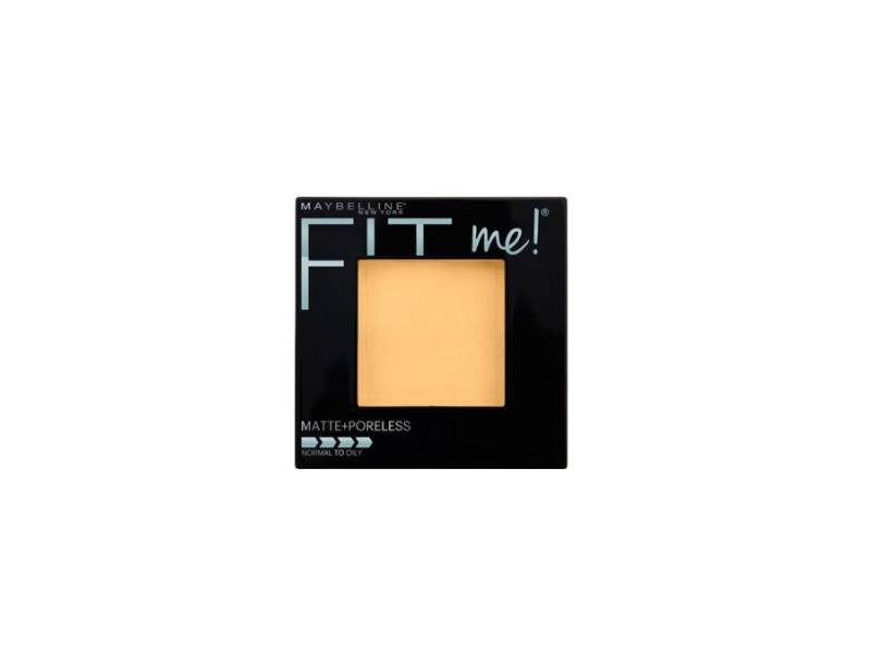 Maybelline New York Fit Me! Matte + Poreless Foundation Powder, Classic Ivory 120, 0.30 oz (Pack of 2)