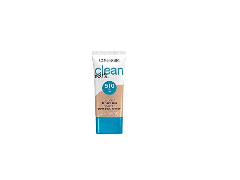Covergirl Clean Matte BB Cream For Oily Skin, 510 Fair, 1 fl oz