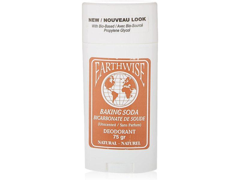 Earthwise Deodorant, Baking Soda, 75 g