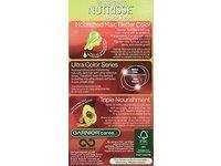 Garnier Nutrisse Ultra Color Nourishing Hair Color Creme, R3 Light Intense Auburn - Image 3