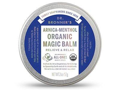 Dr. Bronner's Arnica-Menthol Organic Magic Balm, 2 oz