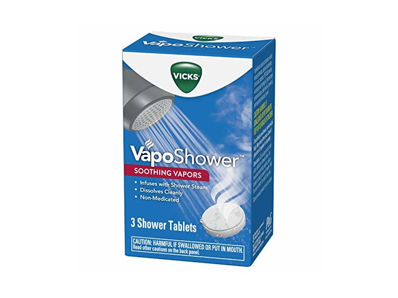 Vicks Vaposhower Shower Tablets