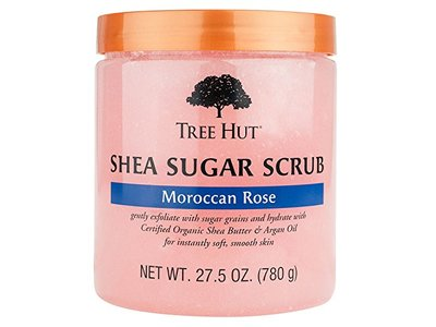 Tree Hut Shea Sugar Scrub, Moroccan Rose (27.5 oz.)