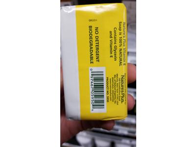 Nature's Plus Vitamin E Soap, 3 oz - Image 4
