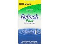 Refresh Plus Lubricant Eye Drops, 100 ct - Image 2