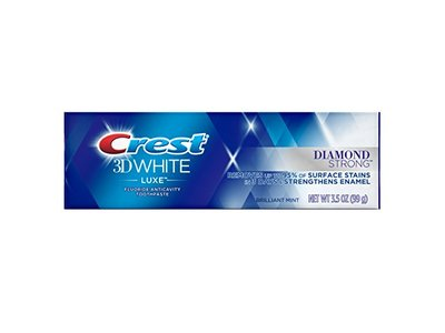Crest 3D White Diamond Strong Brilliant Mint Toothpaste, 3.5 oz
