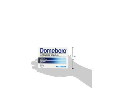 Domeboro Astringent Solution, 12 packets - Image 6