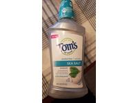 Tom's of Maine Sea Salt Natural Mouthwash, Alcohol Free Mouthwash, 16 Ounce 6-Count - Image 3