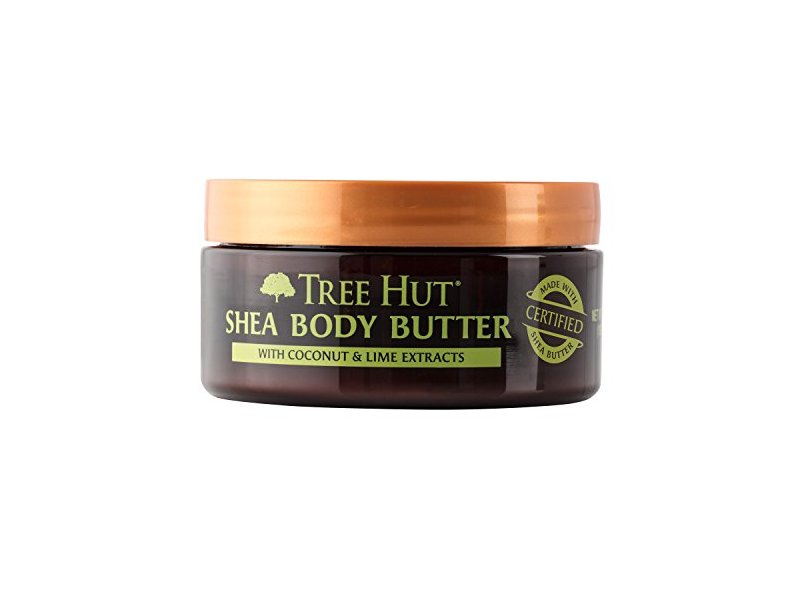 Tree Hut 24 Hour Intense Hydrating Shea Body Butter, Coconut & Lime Extracts, 7 Ounce