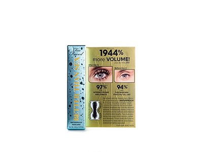 Too Faced Better Than Sex Waterproof Mascara, 0.17 oz