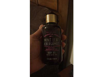 Bath & Body Works Essential Oils Body Oil, Mint Leaf & Bergamot, 6 fl oz - Image 3