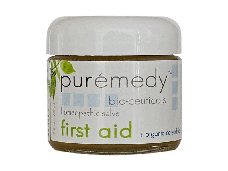 Puremedy Bio-Ceuticals First Aid Homeopathic Salve, 2 oz