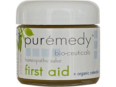 Puremedy Bio-Ceuticals First Aid Homeopathic Salve, 2 oz - Image 1