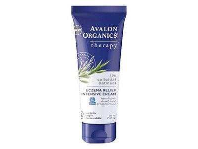 Avalon Organics Therapy, Eczema Relief Intensive Cream, 3.0 Ounces