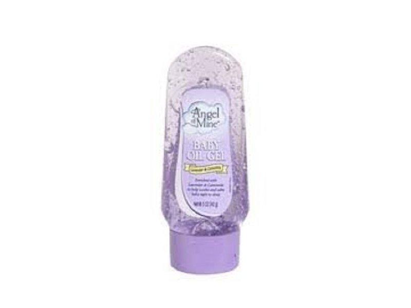 Angel of Mine Baby Oil Gel, Lavender & Chamomile, 5 Oz.
