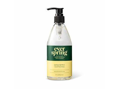 Everspring Lemon & Mint Liquid Hand Soap, 12 fl oz