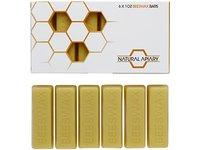 Natural Apiary 100% Cosmetics Beeswax Bars, 1 oz (6 bars) - Image 3