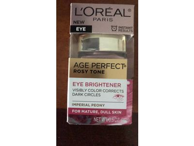L'oreal Paris Skin Care Age Perfect Rosy Tone Eye Brightener Cream, 0.5 Ounce - Image 3