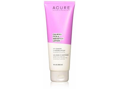 Acure Organics Calming Itch & Irritation Lotion, 8 Ounce