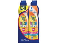 Banana Boat Kids Sport Broad Spectrum Ultra Mist Sunscreen Spray, SPF 50, 12 Ounce, Twin-Pack - Image 2