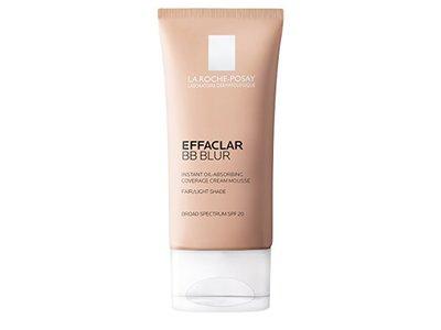 Effaclar BB Blur Instant Oil-Absorbing Coverage BB Cream, Fair-Light