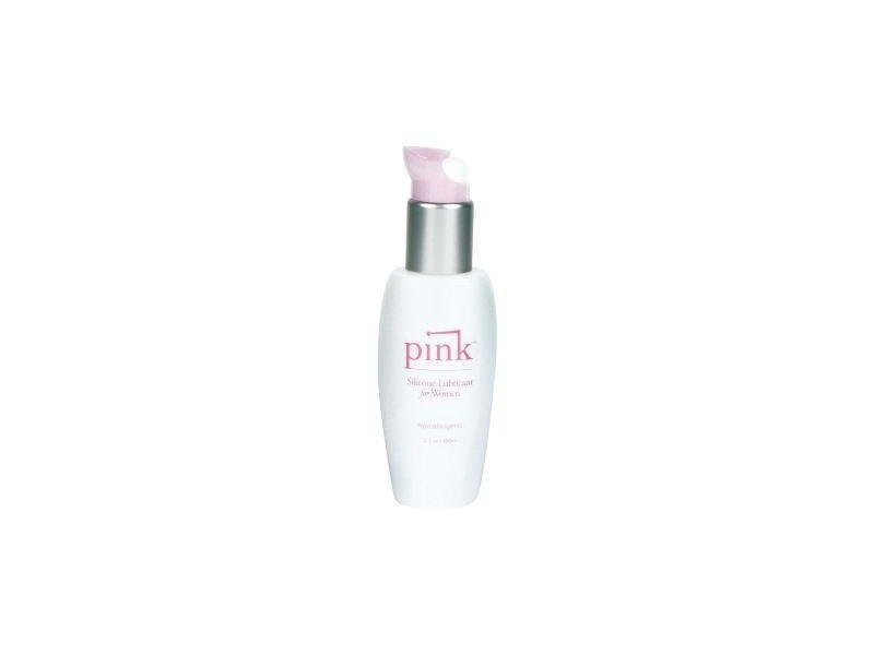 Pink Silicone Lube For Ladies, 3.3Oz.