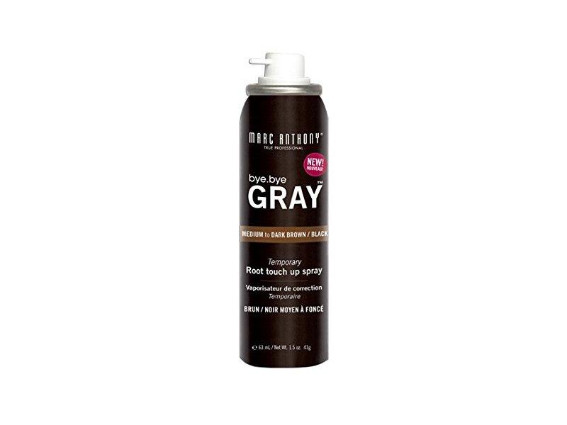 Marc Anthony Bye, Bye Gray, Medium to Dark Brown/black, 1.5 Oz.